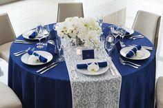 青テーブル