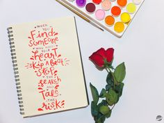 Happy Valentine's Day! Spread the love. Watercolor Lettering, Find Someone Who, Day, How To Make