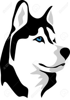 husky dog vector image sketch pinterest husky dog stenciling rh pinterest com husky mascot clipart husky head clipart
