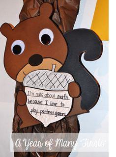 i'm nuts about....simple and cute squirrel craft