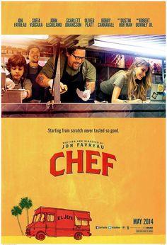 O filme segue o personagem de Favreau desde jantares finos a vida no seu Food Truck, como ele viaja em todos os EUA em seu El Jefe sanduíches cubanos food truck.