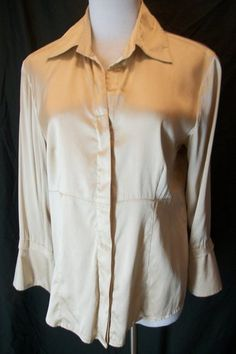 Phillipe Adec silk blouse