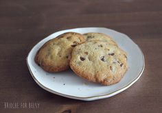 Weekend Baking: Gluten-Free Chocolate Chip Cookies ~ Brioche for Belsy