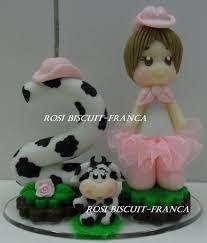 Resultado de imagen para biscuit fazendinha rosa