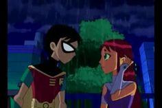 Robin and Starfire <3