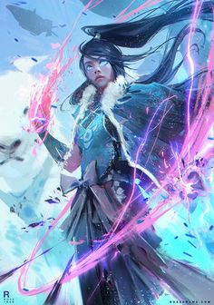 rossdraws:  My take on KORRRRRRA!!! From the EPISODE!! Frozen Yogurt Time!