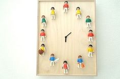 It's always cute o' clock with this tiny LEGO person timepiece. | The 42 Definitively Cutest DIY Projects Of All Time