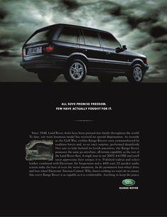 Range Rover P38 Ad