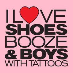 Actually Men with Tattos