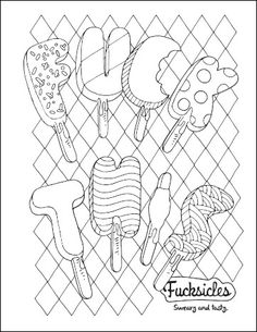 Best Coloring Pages See More Watermelon Wankjob Oh Shit Orange Blast And Blueberry Bitch Are Just Few