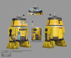 In the Name of the Rebellion BTS Gallery Star Wars Droids, Star Wars Rpg, Star Wars Ships, Star Wars Rebels, Robots Characters, Star Wars Characters, Aliens, Republic Commando, Star Wars Canon