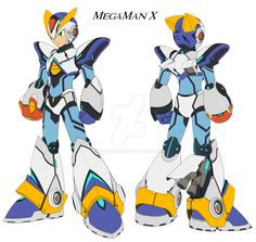 Mega Man X Armour Ver KE. by GunZcon.deviantart.com on @DeviantArt