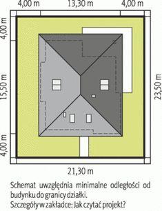 Sytuacja AC Liv 3 CE House Layout Plans, Tiny House Plans, House Layouts, One Storey House, Indian House Plans, Zen House, Modern Bungalow House, Architectural House Plans, Brick Architecture