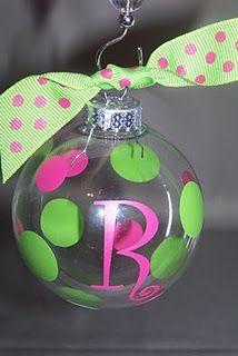 Monogrammed Ornament $3.50