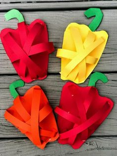 Toddler Learning Activities, Craft Activities, Preschool Crafts, Diy Crafts For Kids, Art For Kids, Fruit Crafts, Edible Crafts, Food Crafts, Vegetable Crafts