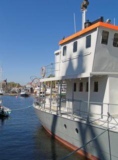 houseboat barge sweden stockholm