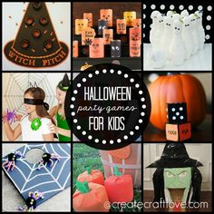 Here are some Halloween Party Games for Kids so you can make your own awesome memories!