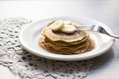"""Recette de pancakes """"healthy"""" à la banane"""