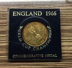 England 1966 UK World Cup Champion Willie Commemorative Medal in holder  | eBay