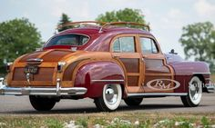 A rare 1948 Chrysler Town & Country Woodie Barrelback 4-Door