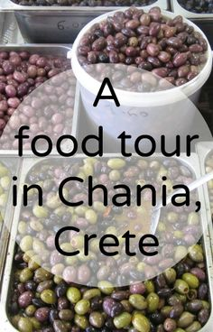 food tour chania kreta