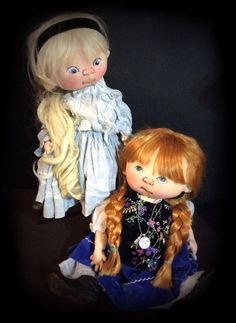 jan shackelford dolls - love the head band