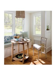 Love the window seat and the storage
