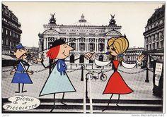 """""""Picolo et Piccolette"""" (1964) - Création : Jean Image"""