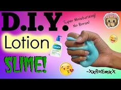D.I.Y. Slime out of Body Wash! Non-stick slime you can PLAY WITH! (No Glue, Borax, Detergent, etc.) - YouTube