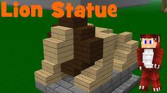 minecraft lion statue