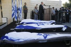 Mourners Flood Central Israel for Teens' Burial Service