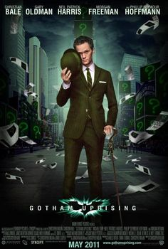 to think bout Neil Patrick Harris as the Riddler kinda works..!