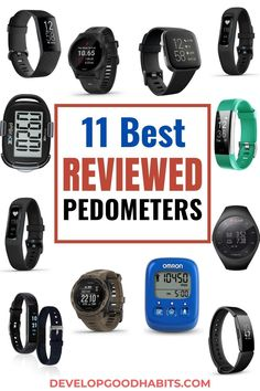 11 Best Reviewed Pedometers