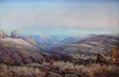 Naude, Hugo | Matopas African, Artist Painting, Painting, South African, Art