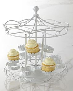 Carousel Cupcake Holder by Godinger at Neiman Marcus.