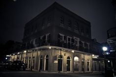 New Orleans French Quarter Lalaurie Haunted Mansion