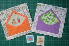 Ready to post :) S.W.A.K. Swap Envelopes... made by wooden spoon via Flickr