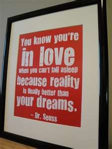 Love this saying from Dr Suess, will make it my nursery door front