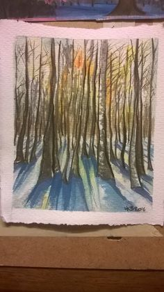 my original watercolour painting Watercolour Painting, Original Art, Tapestry, The Originals, Handmade, Home Decor, Hanging Tapestry, Homemade Home Decor, Tapestries