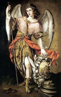 Juan Valdés Leal: San Rafael arcángel.