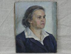 Портрет женщины. Соцреализм