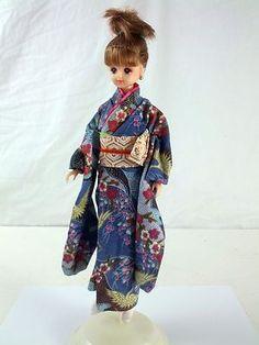 Japanese Barbie Takara Anime Manga Doll Kimono Mattel   eBay
