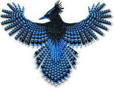 Beadwork Steller's Jay