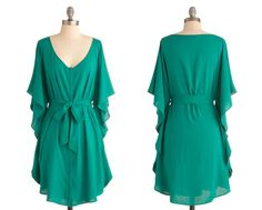 Green Dresses!  Color of the Year