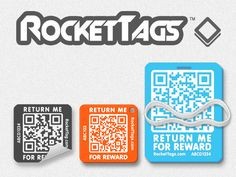 RocketTags, an exciting new lost and found solution by RocketTags — Kickstarter