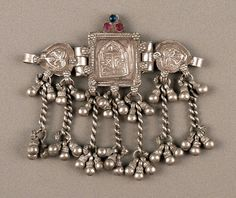 Indian silver old hindu armlet amulet Rajasthan by ethnicadornment, €230.00