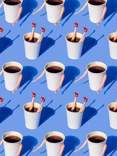 Axel Oswith // Amanda Kusai // Coffee // Graphic