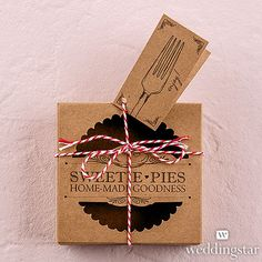 'Sweetie Pies' Mini Pie Packaging Kits