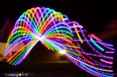 #hoop #hooping #led