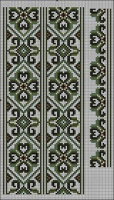 Gallery.ru / Фото #23 - схемы для вышиванок - zhivushaya